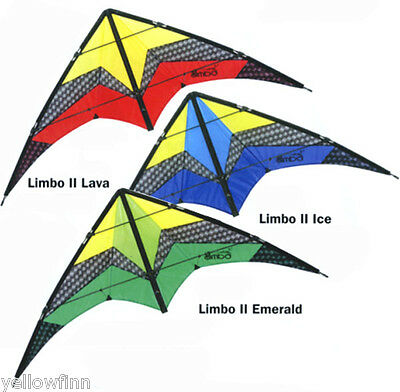 HQ Limbo II Stunt Trick Sports Kite Choice Of 3 Colours
