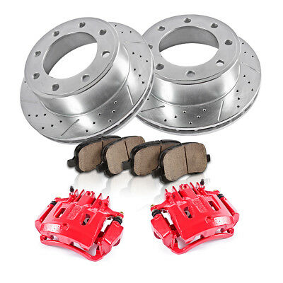 Rear Brake Calipers and Rotors Pads 2000 2001 2002 2003 2004 EXCURSION F250 F350