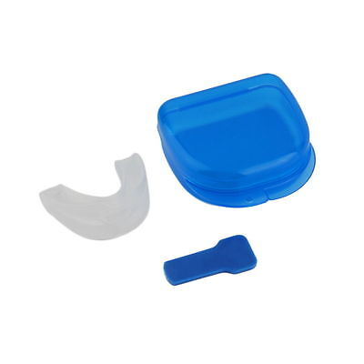 STOP BRUXISM ANTI SNORING DEVICE SLEEP AID MOUTH PIECE GUARD TEETH GRINDING New