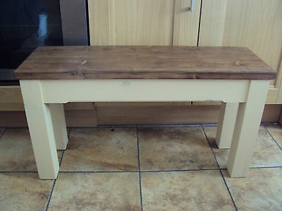 Wooden Handmade Kitchen Dining Bench Sturdy And Solid