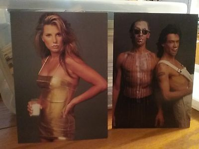 Postcards    Milk  Where's Your  Mustache?   Daisy Fuentes/ Van Halen Bros.