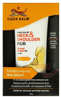 Tiger Herbal Balm NECK and SHOULDER RUB Muscle Relieve 50 g.