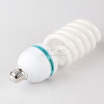 105W Photo Studio Day-light Bulb Softbox Umbrella Compact Fluorescent Lamp 5500K