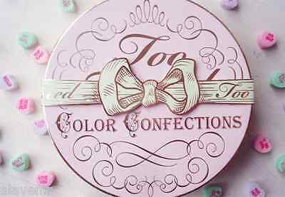 Too Faced Ltd Edition Color Confections For Eyes/lips/face! New In Box!