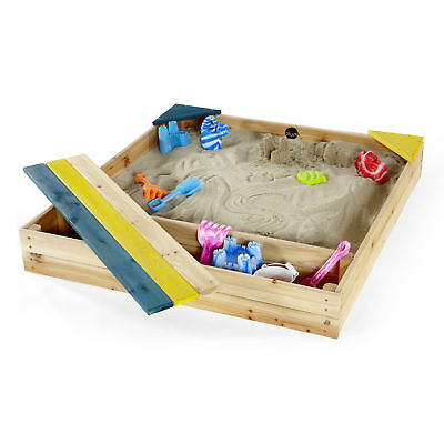 NEW Plum Store-it Wooden Sand Pit