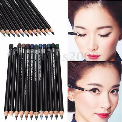 12 Couleur Crayon Eyeliner Eye Liner Fard à Paupières Yeux Stylo Maquillage HOT