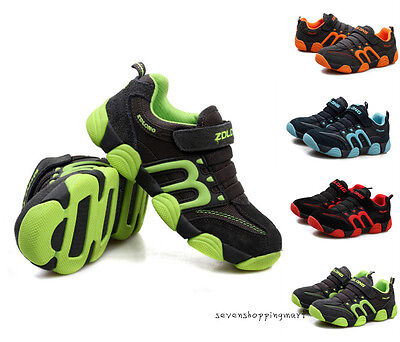 New Kids Children Boys Girls Sneakers Sports Shoes Outdoor Casual Shoes Size