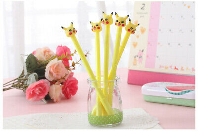 1pc Anime Pokémon Pikachu Gel Pen Writing Rollerball Stift Pocket Monster Gifts
