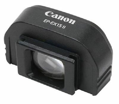 Genuine Canon EP-EX15 II Eyepiece Extender for EOS DSLR Kiss/Rebel etc