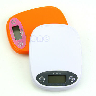 Digital LCD Electronic Kitchen Postal Scale Postage Parcel Weighing Scale 7Kg