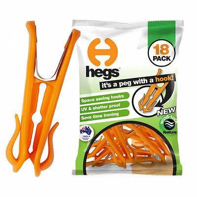 HEGS Pegs - 18 to a Bag
