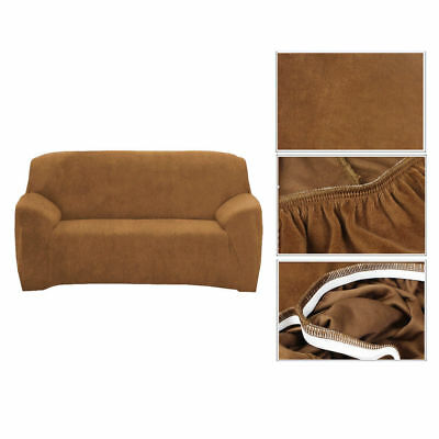 2 Seater Stretch Loveseat Sofa Cover Couch Slipcover Comfort Super Fit Protector