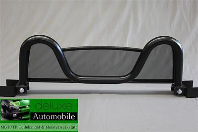 MG MGF & TF  Black Edition wind deflector & with roll bar New 1995 - 2005