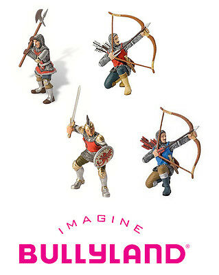 BULLYLAND FIGURES/TOYS/CAKE TOPPERS - Knights & Soldiers 80880/80886/80890/80887