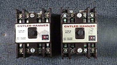 Cutler Hammer 4 Pole Contactor Relay Type M 110/120V Coil  Model: D26M-2