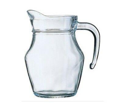 Luminarc Small Classic Glass Jug Water Milk Juice Table Serving Jug 0.5L