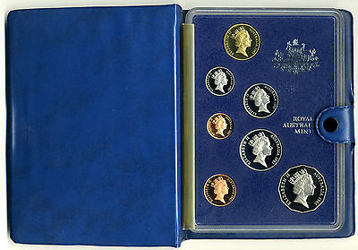 Australia 1985 Proof Set With Coa