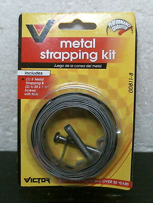 Bell Victor 00811-8 Metal Strapping Kit, FREE SHIPPING
