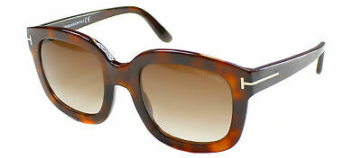 a0bcfa5d535 Authentic Tom Ford Christophe FT0279 TF 279 50F Brown Havana Plastic  Sunglasses