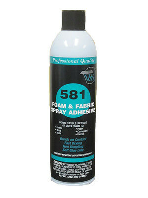 V&S 581 Premium Foam & Fabric Spray Adhesive