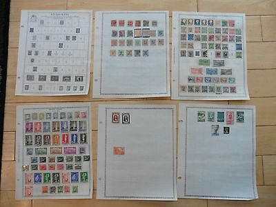 C66 Iceland Island Stamps 1911-33 1928-34 1923-41 1935-57 Minkus pages hinged