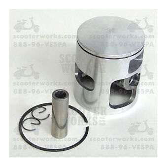 Polini 204.0138 Replacement  Piston 68.8mm Single Ring for 210cc P200 Kit
