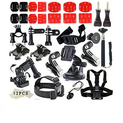 43 in1 Gopro Accessories Bundle Kit for GoPro Hero 4/3+/3/2 SJ4000 SJ5000 SJ6000