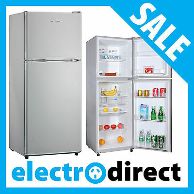 Brand New Top Mount Fridge Refrigerator Freezer White & Stainless Steel Options