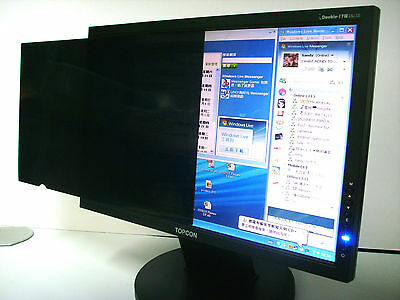 """PRIVACY FILTER 12""""/12.1""""/12.1""""Wide Monitor Touch Screen Protector Film+Wet Wipe"""