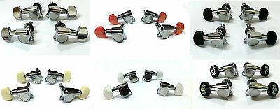 Ukulele Machine head Tuning peg- Various buttons, 4 piece 333C Series