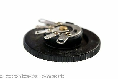 Potentiometer 250K A250K Audio Thumbwheel For Acoustic - Jazz - Cigar Box Guitar