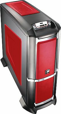 6XR9 Xtreme Gaming Midi Tower Case Red