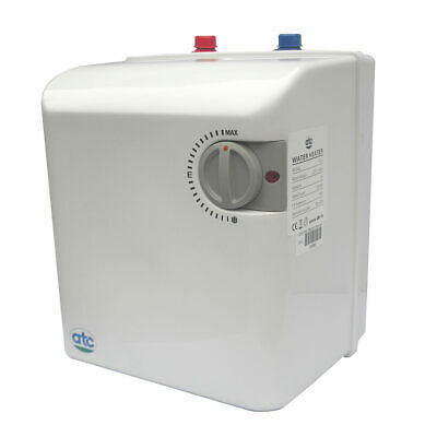 ATC 5L 5 Litre 2kW Unvented Under Sink Water Heater 2 sinks