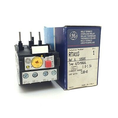 Overload Relay 105005 GE 1.0-1.5A RTA1G