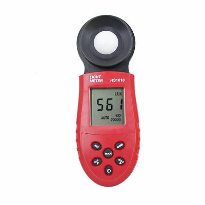 200,000 Digital Light Meter Luxmeter Lux Meters Luminometer Photometer Tester L3