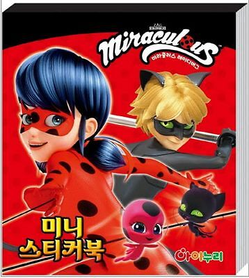 Miraculous Ladybug Animation 24 Sheets Mini Sticker Collection for Kids Toy Gift