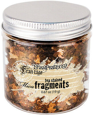 Stampendous Frantage Mica Fragments .67oz Tea Stained FRM04