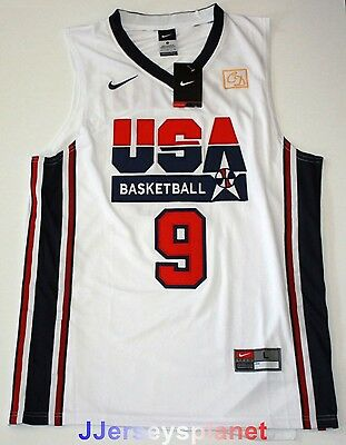 Swingman Jersey MICHAEL JORDAN 1992 USA Basketball Dream Team Olympic White Men