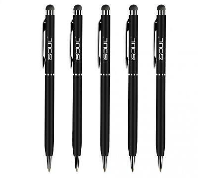 5x Universal Touch Screen Stylus Ball Pens For All Mobile Phone iPad iPhone Tab