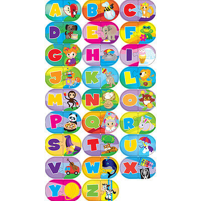 Learning Puzzle Games Alphabet 52 Pieces 112-37