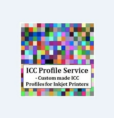 ICC Profile Service - Custom Made ICC Profiles for Sublimation Inkjet Printers