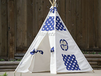 Teepee From Canada with Poles Hand Bag and Flags,kids teepee,tipi, play tent