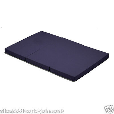 New Hauck Sleeper Folding Mattress/Playmat for Travel cot in Navy
