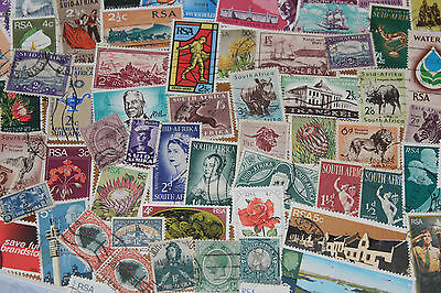 Bulk Lot South Africa Stamps,,,100 Different,, Free Postage In Oz