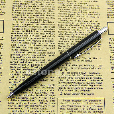 New High Quality BAOER 37 Stainless Steel Push Ball Point Pen