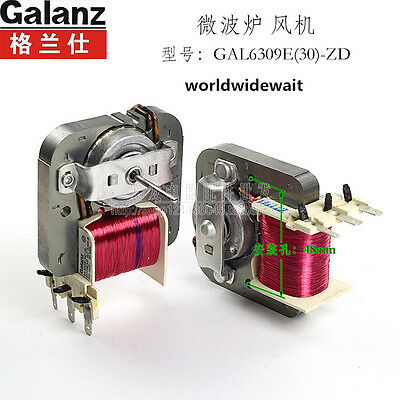 1pc Microwave Oven Fan Motor Cooling For Galanz Gal6309e 30 Zd