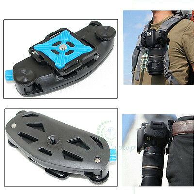 Fast Waist Backpack Belt Camera Clip Buckle Mount Quick For Canon Nikon DSLR