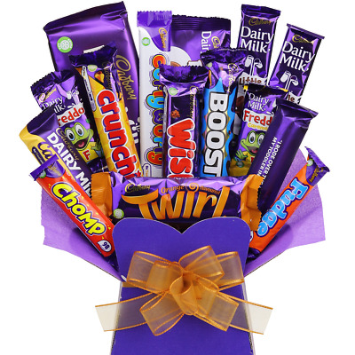 Cadbury Chocolate Bouquet Sweet Hamper Tree Explosion Perfect Gift Any Occasion