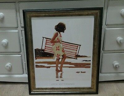 Sweet Bird Of Youth by Jack Vettriano Large Deluxe Framed Art Print Romantic