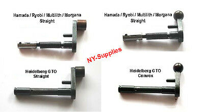 Replacement Arm for Rotary Numbering Machine- Heidelberg, Hamada,Ryobi,Morgana